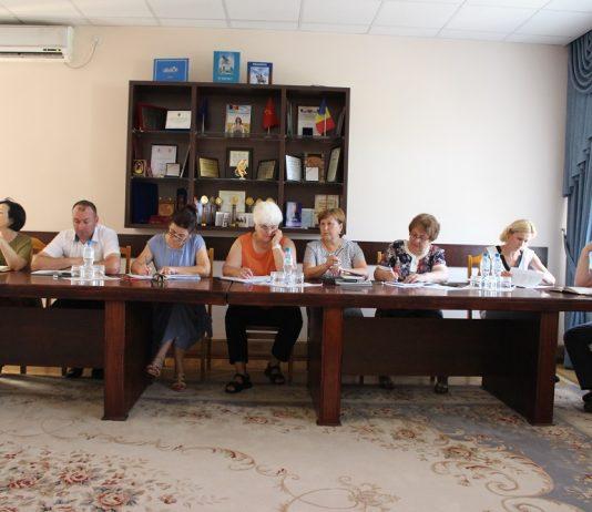 Ședința operativă cu șefii de direcții și secții a Consiliului Raional 1