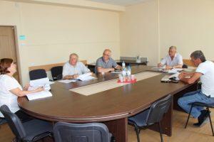 sedinta de lucru a comisiei consultative