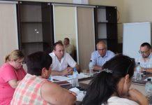 Ședința Comisiei raionale pentru transporturi regulate de pasageri și bagaje în raionul Hîncești