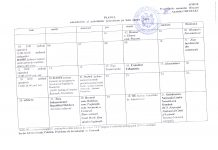 planul calendaristic pentru luna august