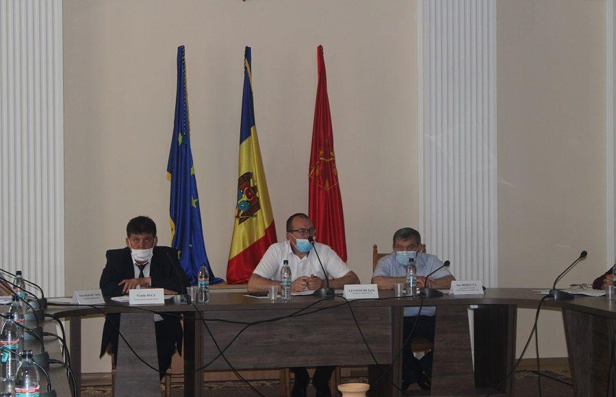 întrunirea reprezentanţilor autorităţilor publice Locale de nivelul I cu reprezentanţii serviciilor desconcentrate şi descentralizate din raionul Hînceşti.