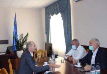 vizita de lucru a ministrului